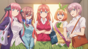 the quintessesntial quintuplets ep. 1-4