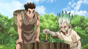 Dr. Stone Ep. 1-4